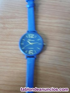 Reloj geneva azul  a