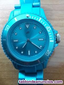 Reloj verde cadena a