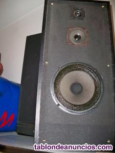 Amplificador y altavoces phiips