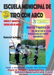 ESCUELA MUNICIPAL TIRO CON ARCO