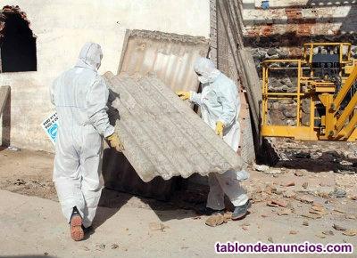 Empresa que retira tejados de uralita en cordoba