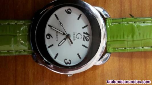 Reloj c g watch verde