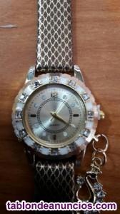 Reloj jm marron oro