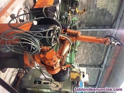 Robot soldadura abb irb 1400