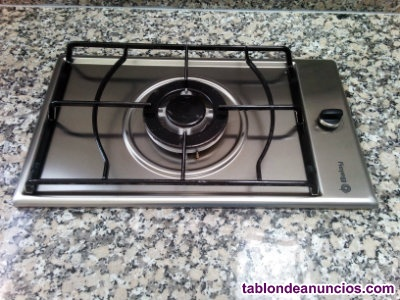 PLACA BALAY MODULAR DE 1 FUEGO A GAS