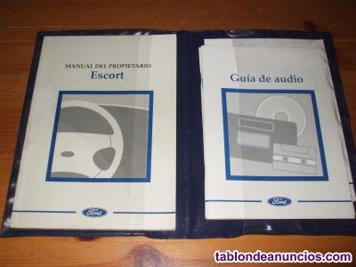 Manual ford escort clásico (mk6)