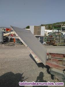 Plataforma elevadora abatible de camion