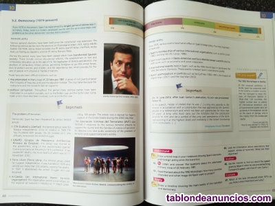 LIBRO GEOGRAPHY AMP; HISTORY 4ºESO
