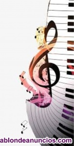 Clases piano, lenguaje musical y canto