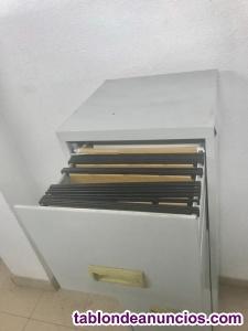 Armario archivador metal - usado