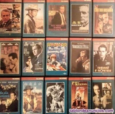 Paul Newman - Colección de 32 películas (VHS)