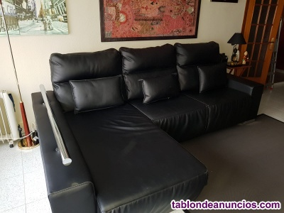 VENDO SOFÁ 3 PLAZAS CHESLONG
