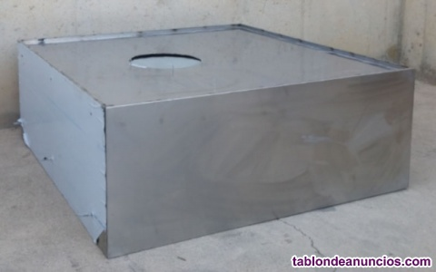 Campana de inox 120x50x120cm