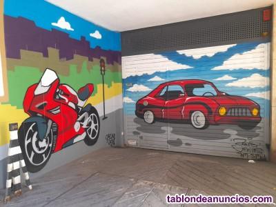 Se alquila plaza de parking para motos