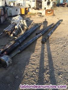 Columnas de cromo niquel para torneros