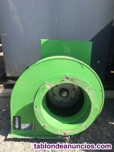 Ventilador centrifugo sodeca
