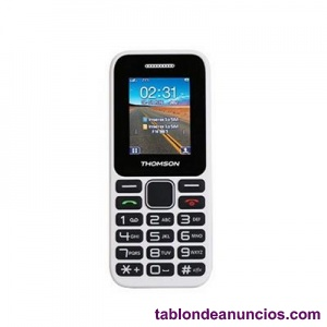 THOMSON T11 TELEFONO MOVIL 1.77 QUOT; BT DUALSIM BLANCO