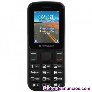 THOMSON T12 TELEFONO MOVIL 1.77 QUOT; BT DUALSIM NEGRO