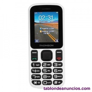 THOMSON T12 TELEFONO MOVIL 1.77 QUOT; BT DUALSIM BLANCO