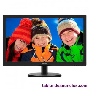 PHILIPS 223V5LSB2 MONITOR 21.5 QUOT; LED 16:9 5MS VGA
