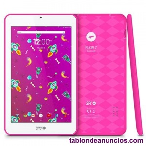 SPC TABLET 7 QUOT; IPS 9742108P FLOW QC 8GB ROSA