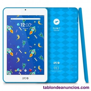 SPC TABLET 7 QUOT; IPS 9742108A FLOW QC 8GB AZUL