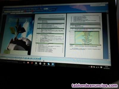 Apuntes: temario, práctico, programación. Oposiciones Biología y Geología