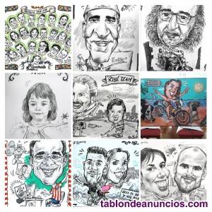 Caricaturas y caricaturistas especialistas encargo y eventos