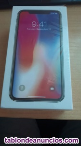 VENDO IPHONE X 256GB PRECINTADO