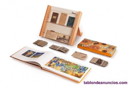 Van Gogh La Mirada, cuadernos facsímiles y colección de obras, con expositor