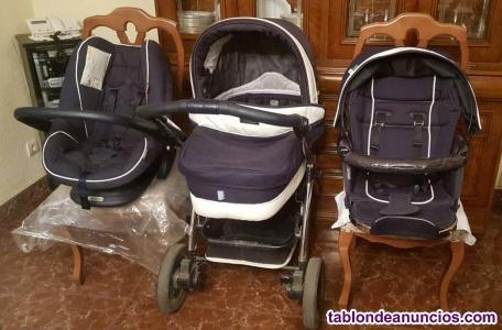 Carrito bebé tres piezas Bebecar