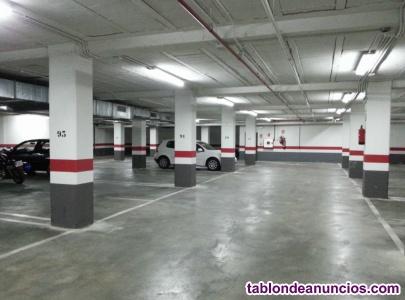 Alquilo plaza aparcamiento