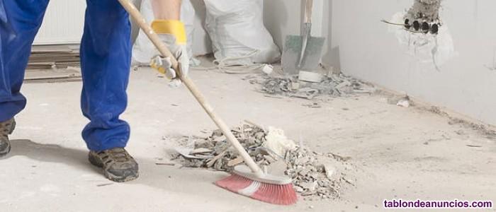 Limpieza y manitas finde semana