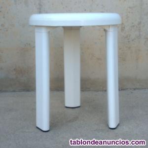 Taburete blanco 35cm