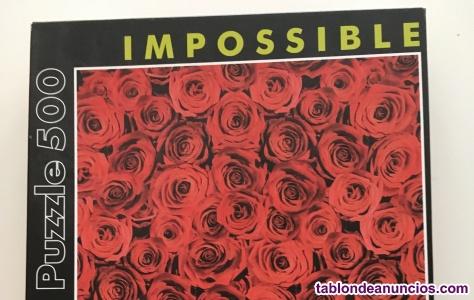 Puzzle 500 piezas - Modelo Rosas Imposible