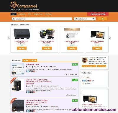 (vendo) portal web de anuncios