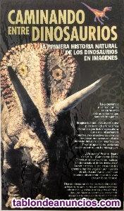 Documental de la BBC ''Caminando entre dinosaurios'' (VHS)