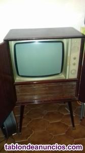 Mueble tv philips año 1.957