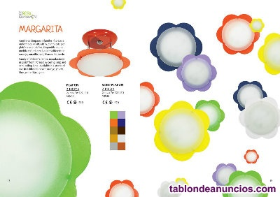PLAFONES-LAMPARAS-MATERIAL ELECTRICO-LED