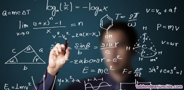 Clases particulares de matemáticas en sc