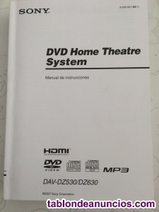 HOME CINEMA SONY DAV-DZ630