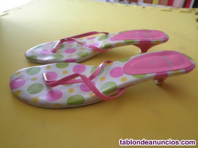Sandalias de colores talla 41 de mujer por 4 euros
