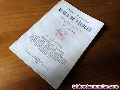 1943 teoria y manejo de la regla de calculo por josé garcía cifré
