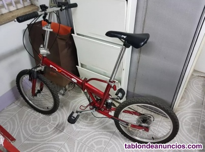 VENDO BICI PLEGABLE