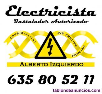 Instalador eléctrico autorizado
