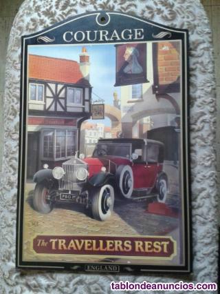 Cuadro colección pub inglés