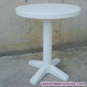 Mesa redonda plásticoo ø60x70cm