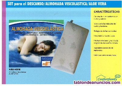 Ocasion nuevas a estrenar almohadas autenticas viscolasticas 150cm