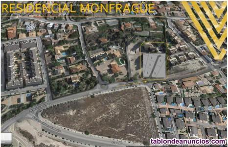 VENTA de PARCELA/s en Urbanizacion privada en SALINETAS desde 500m. Para CHALETS