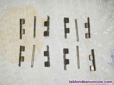 4 MINI-PERNIOS de latón